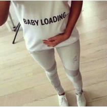 Camiseta Baby Loanding ( Gravida )