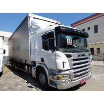 Scania P250 P 250 Bau Sider 6x2 2012 Baixa Km= 24250 24280