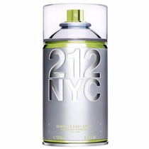 Desodorante 212 Nyc Seductive Body Spray 250ml Feminino
