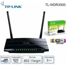 Roteador Wireless Dual Band Print Server Tplink Tl-wdr3500