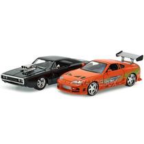Dodge Charger R/t 70 + Supra 95 Velozes Furiosos 1:24 97503