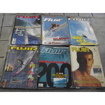 Lote Com 18 Revistas Fluir Surf Anos 80 E 90