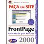 produto Frontpage Faça Um Site Para Webmasters E Webdesigners