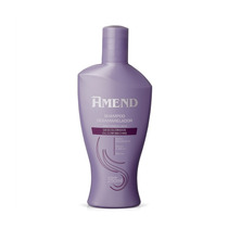 Shampoo Desamarelador Cabelos Descoloridos Amend 250ml