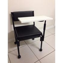 Cadeira De Manicuri Cirandinha Com Gaveta E Mesa Móvel