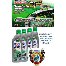 Kit 4 Litros Mobil Super 5w-30 - Economiza 4% Combustível