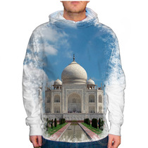Blusão Índia Taj Mahal Unissex Com Capuz