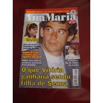 Revista Ana Maria Ayrton Senna Sasha Ano 2000 N°201