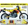 Kit De Adesivos-drz 400 2000 Makita Rockstar-qualidade 3m