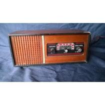 Rádio Duplosom De Madeira 3 Faixas Bivolt Funcionando