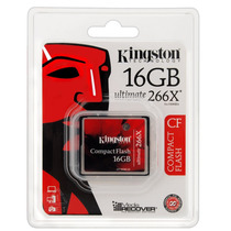Cartão Memória Cf Compact Flash 16gb Kingston 266x Ultimate
