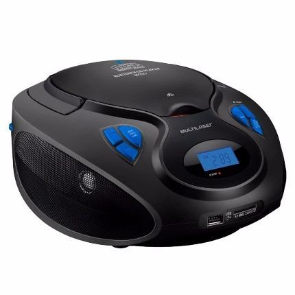 Caixa De Som Boombox Bluetooth 6 Em 1 Preto - Sp223