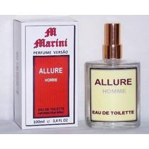 Perfume Versão Allure Homme Edt 100ml Masculino