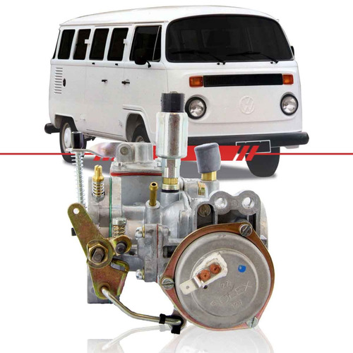 Dupla Carburação Kombi Gasolina Clipper 96 - 91 Solex Esquerdo