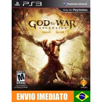 God Of War Ascension Ps3 Psn Português Brasil Envio Agora