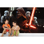 Adesivo Papel Parede Revestimento Infantil Star Wars Mod.08