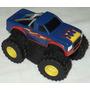 Mini Picape Pickup Bigfoot Monster Wheels 9x6cm Tampa Shampu