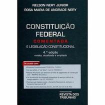 Livro Em Pdf. Constituição Federal Comentada E Legislação Co