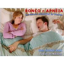 Aparelho Anti Ronco E Apnéia - Use Sono-pax - Frete Grátis
