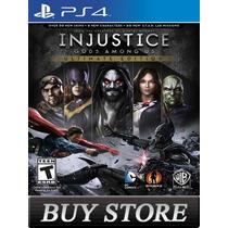 Injustice Ultimate Edition Ps4 - Primaria - Audio Portugues