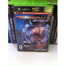 Jogo Xbox Original Mechassault 2 Lone Wolf Coleção