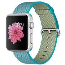 Apple Watch Sport 42mm Com Pulseira Nylon Azul .modelo Novo