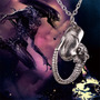 Colar Cordão Alien - Embrião Filme - Pronta Entrega
