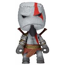 Little Big Planet - Kratos Sackboy - God Of War - Neca