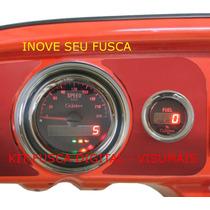 Kit Painel Digital Para Fuscas,brasilias, Buggys E Bugres