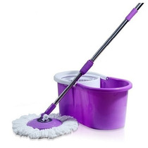 Balde Spin Mop And Go C/ Cabo + 2 Refil S/ Pedal