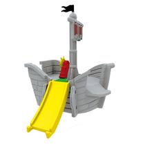 Novo Brinquedo Playground Navio Dos Piratas Cinza Xalingo