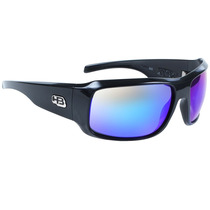 Óculos Hb Rocker Gloss Black Multi Blue Lenses