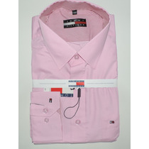 Kit C/ 5 Camisas Slim Social Lacoste Thomy Atacado