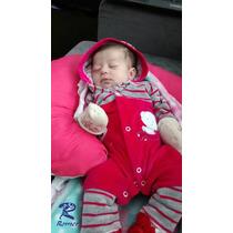 Almofada Amamentação E Descanso Para O Bebê Com Bordado