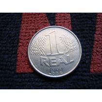 Rara Moeda 1 Real 1994. Queima.