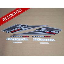 Kit Adesivos Nxr150 Es Bros 2006 Preta - Resinado - Decalx