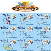 9 Bonecos Os Smurfs 2 Coleção Mc Donalds 2013 - Importado