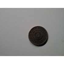 Moeda Japao 10 Sen 1911 Prata