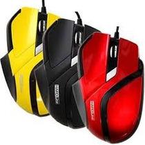 Mouse Óptico Gamer 2400 Dpi Fire Usb 2.0 - Com Nfe