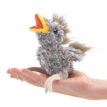 Marionetes Folkmanis, Mini Filhote De Pássaro - 2758