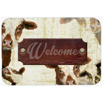 Bem-vindo Vaca Cozinha Ou Banho Mat 20x30 Sb3065cmt