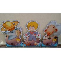 Kit 9 Pequeno Príncipe Totem Display Decoração Festainfantil