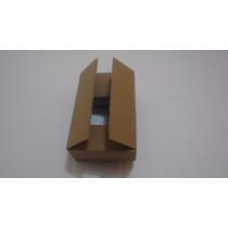 100 Caixa De Papelão Pardo De Onda Simples,16x11x06