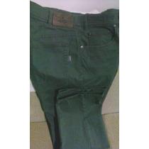 Calça Tradicional Jeans Color Numero Grande