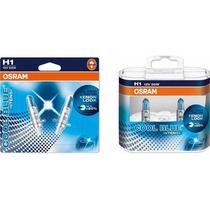 Kit Lampadas Osram H1+ H7 Cool Blue Intense - Super Branca