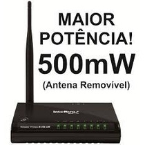 Access Point Roteador Wireless -win240 - 700 Mw - Intelbras