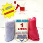 Kit Lavagem Seco 1 Litro + 2 Panos Microfibra * Alto Brilho