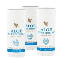 Kit De 3 Desodorantes Aloe Ever Shield Forever Super Oferta!