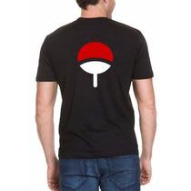 Camiseta Naruto Clã Uchiha