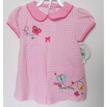Vestido Carters Infantil Tamanho 6-9 Meses - Importado